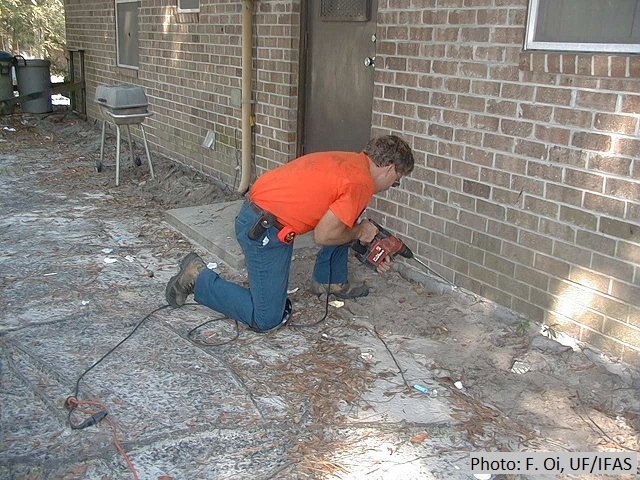 Angle-drilling the slab